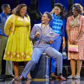 Amber Riley, Tyrone Huntley, Liisi La Fontaine & Ibinabo Jack in Dreamgirls. © Mogenburg