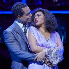 Joe Aaron Reid & Liisi La Fontaine in Dreamgirls. © Mogenburg