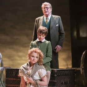 Michael Crawford, William Thompson and Gemma Sutton in The Go-Between. © Johan Persson