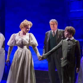 Gemma Sutton, Michael Crawford and William Thompson in The Go-Between. © Johan Persson