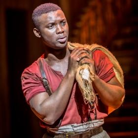 Emmanuel Kojo in Show Boat. © Johan Persson