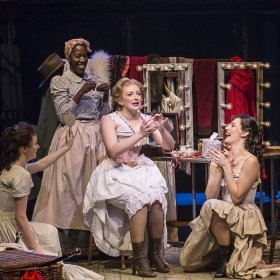 Alex Young and company in Show Boat. © Johan Persson