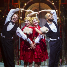Dominic Hodson, Louise Dearman, Laura Pitt-Pulford & Nuno Queimado in Side Show