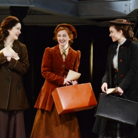 Kate McGowan, Kate Mullins and Kate Murphy in Titanic. © Annabel Vere