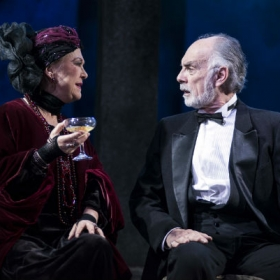 Gay Soper & Anthony Cable in Death Takes a Holiday. © Annabel Vere