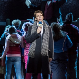 Andy Karl in Groundhog Day at the Old Vic