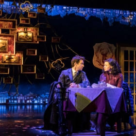 Andy Karl and Carylss Peer in Groundhog Day at the Old Vic