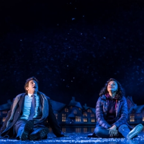 Andy Karl and Carlyss Peers in Groundhog Day