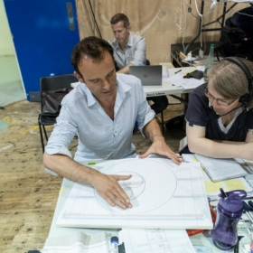 Matthew Warchus (director) in Groundhog Day rehearsals