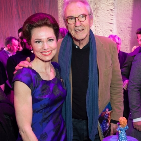 Beautiful 2nd birthday (9 Feb 2017): Barbara Drennan & Larry Lamb. © Craig Sugden