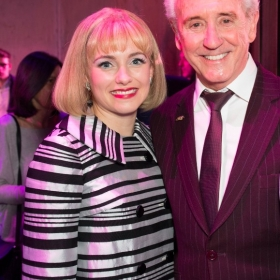 Beautiful 2nd birthday (9 Feb 2017): Lorna Want & Tony Christie. © Craig Sugden