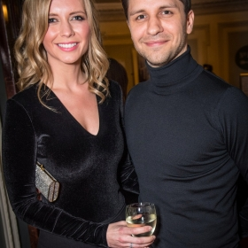 Beautiful 2nd birthday (9 Feb 2017): Rachel Riley & Pasha Kovalev. © Craig Sugden
