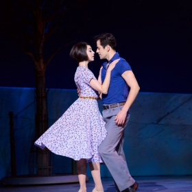 Robert Fairchild and Leanne Cope in New York production. © Matthew Murphy
