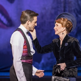 Haydn Oakley & Jane Asher in An American in Paris at London's Dominion Theatre. © Johan Persson