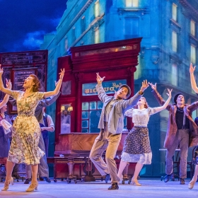 The cast of An American in Paris at London's Dominion Theatre. © Johan Persson