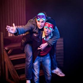 'Romeo & Juliet' By William Shakespeare Immersion Theatre UK Tour (2015) James G. Nunn as 'Benvolio'
