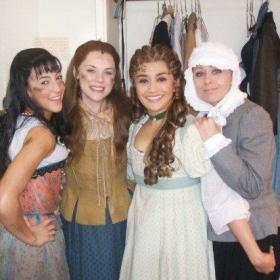 Backstage les miserables Gina Beck, Jo Ampil, tracie Bennett