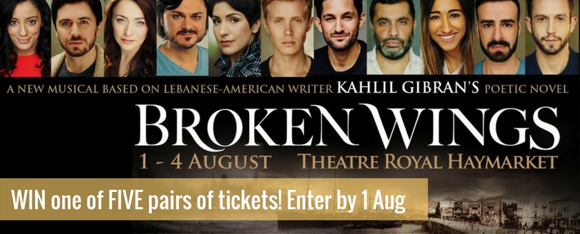 Win tickets to Broken Wings in the West End
