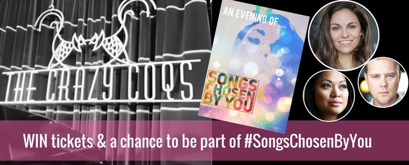 Songs Chosen by You: Win tickets & take part!