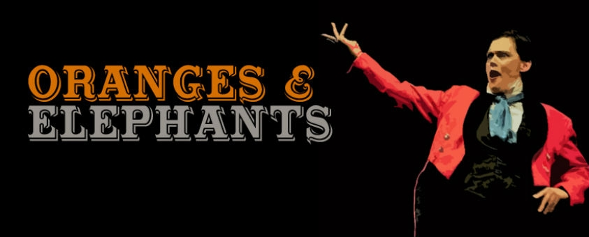 Win tickets to Oranges & Elephants